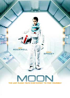 Moon - 11 x 17 Movie Poster - Swedish Style C