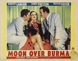 Moon Over Burma - 11 x 14 Movie Poster - Style D