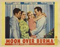 Moon Over Burma - 11 x 14 Movie Poster - Style F