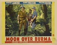 Moon Over Burma - 11 x 14 Movie Poster - Style H