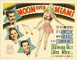 Moon over Miami - 30 x 40 Movie Poster UK - Style A