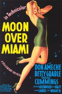 Moon over Miami - 11 x 17 Movie Poster - Style A
