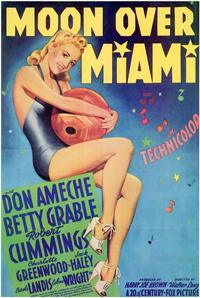 Moon over Miami - 11 x 17 Movie Poster - Style B