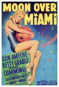 Moon over Miami - 27 x 40 Movie Poster - Style B