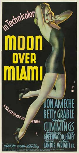 Moon over Miami - 20 x 40 Movie Poster - Style A