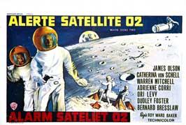 Moon Zero Two - 11 x 17 Movie Poster - Belgian Style A