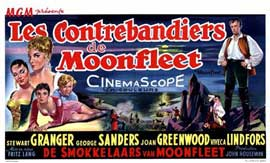 Moonfleet - 11 x 17 Movie Poster - Belgian Style A