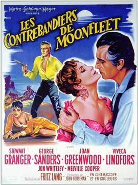 Moonfleet - 11 x 17 Movie Poster - French Style A