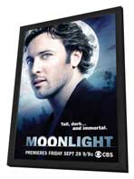 Moonlight (TV) - 11 x 17 TV Poster - Style B - in Deluxe Wood Frame
