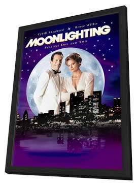 Moonlighting - 11 x 17 Movie Poster - Style A - in Deluxe Wood Frame