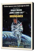 Moonraker - 11 x 17 Movie Poster - Style H - Museum Wrapped Canvas