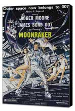 Moonraker - 27 x 40 Movie Poster - Australian Style A - Museum Wrapped Canvas
