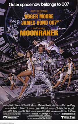 Moonraker - 11 x 17 Movie Poster - Style D