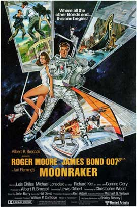 Moonraker - 11 x 17 Movie Poster - Style E