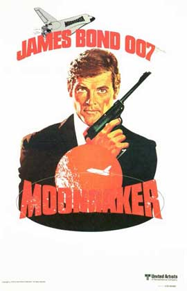 Moonraker - 11 x 17 Movie Poster - Style F