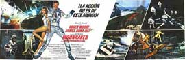Moonraker - 11 x 17 Movie Poster - Style J