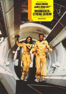 Moonraker - 11 x 14 Poster German Style J