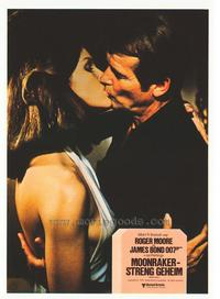 Moonraker - 11 x 14 Poster German Style N