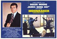 Moonraker - 11 x 14 Poster Italian Style D