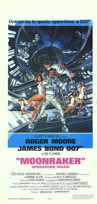 Moonraker - 11 x 17 Movie Poster - Italian Style B