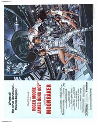 Moonraker - 22 x 28 Movie Poster - Half Sheet Style A
