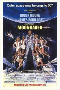Moonraker - 43 x 62 Movie Poster - Bus Shelter Style A