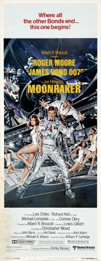 Moonraker - 13 x 30 Movie Poster - Australian Style B
