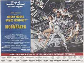 Moonraker - 11 x 17 Movie Poster - UK Style A