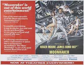 Moonraker - 22 x 28 Movie Poster - Half Sheet Style B