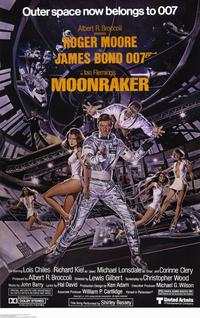 Moonraker - 11 x 17 Movie Poster - Style D - Museum Wrapped Canvas