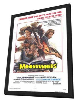 Moonrunners - 27 x 40 Movie Poster - Style A - in Deluxe Wood Frame