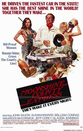 Moonshine County Express - 11 x 17 Movie Poster - Style A