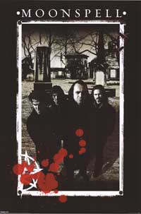 Moonspell - Music Poster - 24 x 36 - Style A