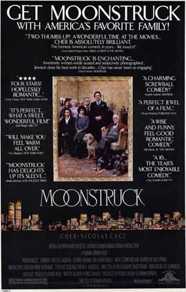 Moonstruck - 11 x 17 Movie Poster - Style B