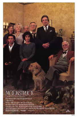 Moonstruck - 11 x 17 Movie Poster - Style C