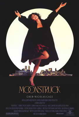 Moonstruck - 27 x 40 Movie Poster - Style B