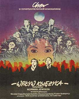Moonstruck - 27 x 40 Movie Poster - Polish Style A
