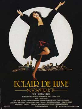 Moonstruck - 11 x 17 Movie Poster - French Style A