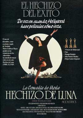 Moonstruck - 27 x 40 Movie Poster - Spanish Style A