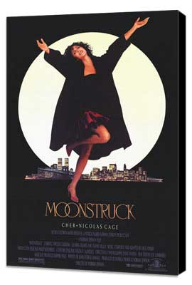 Moonstruck - 11 x 17 Movie Poster - Style A - Museum Wrapped Canvas