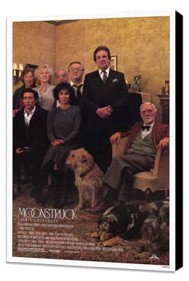 Moonstruck - 11 x 17 Movie Poster - Style C - Museum Wrapped Canvas