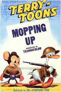 Mopping Up - 43 x 62 Movie Poster - Bus Shelter Style A