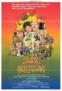 More American Graffiti - 43 x 62 Movie Poster - Bus Shelter Style A