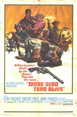 More Dead Than Alive - 11 x 17 Movie Poster - Style A
