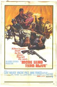 More Dead Than Alive - 27 x 40 Movie Poster - Style A