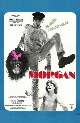 Morgan: A Suitable Case for Treatment - 11 x 17 Movie Poster - French Style A