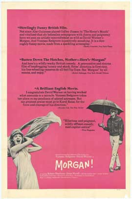 Morgan: A Suitable Case for Treatment - 27 x 40 Movie Poster - Style A