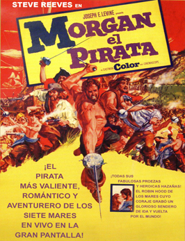 Morgan, the Pirate - 27 x 40 Movie Poster - Spanish Style A