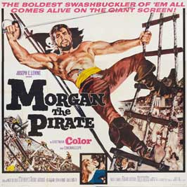 Morgan, the Pirate - 30 x 30 Movie Poster - Style A