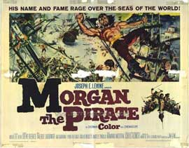 Morgan the Pirate - 11 x 14 Movie Poster - Style A